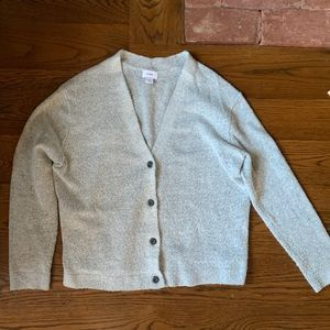 Old Navy gray button up cardigan